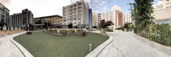 Panorama at the Radisson Blu Hotel Bucharest