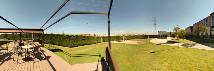 Panorama at the Tryp Salamanca Montalvo