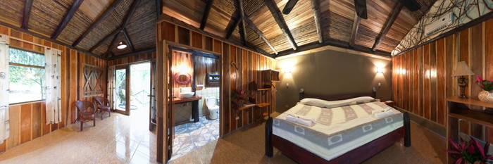 Panorama of the Garden Junior Suite at the Hotel Kokoro Arenal