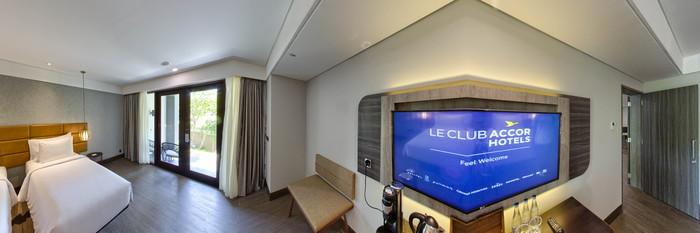 Panorama of the Garden Suite Two Bedroom at Pullman Bali Legian Beach