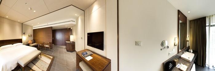 Panorama of the Grand Pacific Suite at the Hilton Sanya Yalong Bay Resort & Spa