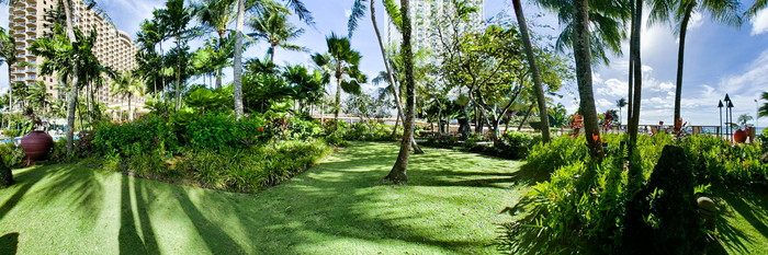 Panorama at the Outrigger Guam Resort