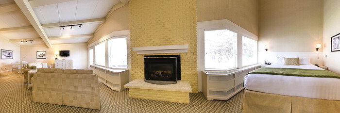 Panorama of the Harbor View Suite at the Abbey Resort & Spa