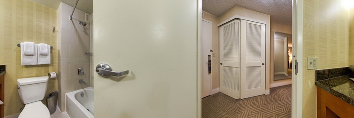 Panorama of the Hospitality Suite at the Hilton Tampa Downtown