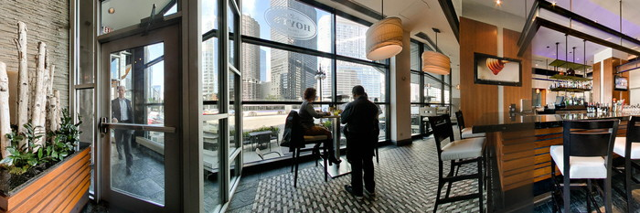 Panorama at the Wyndham Grand Chicago Riverfront