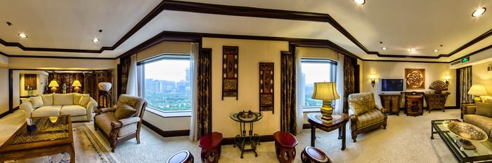Panorama of the Imperial King at the Hongqiao Jin Jiang Hotel