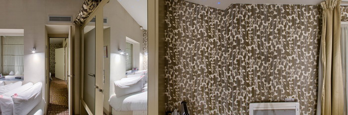 Panorama of the Jacuzzi Suite at The Five Hotel