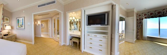 Panorama of the Jasmine Suite at the Beau Rivage Resort & Casino Biloxi