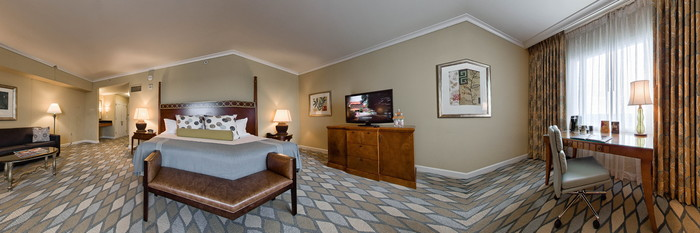 Panorama of the Junior Suite at the Omni Orlando Resort at Championsgate