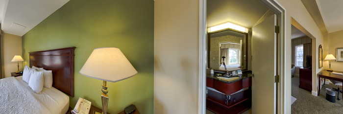 Panorama of the King Suite at the Hampton Inn & Suites Birmingham Downtown - The Tutwiler