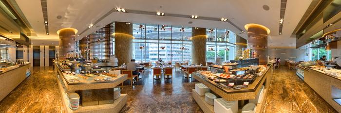 Panorama at the Crowne Plaza Hotel Hong Kong Causeway Bay