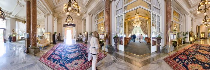 Panorama at the Hotel du Palais