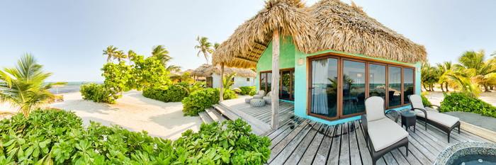 Panorama of the Luxury Beachfront Villa at the Matachica Resort & Spa