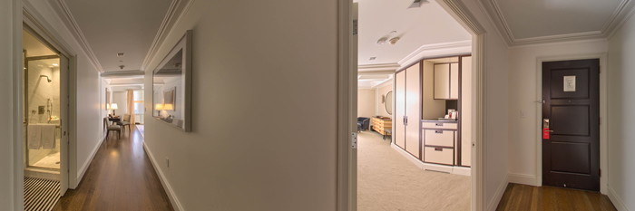 Panorama of the Madison One-Bedroom Corner Suite at The Mark
