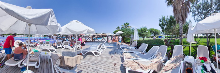 Panorama of the Main Pool at the Voyage Belek Golf & Spa