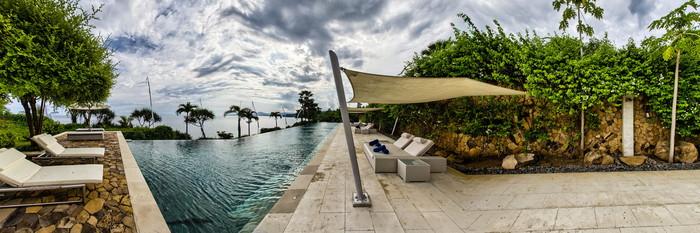 Mainpool at the Pool at the Shunyata Villas Bali