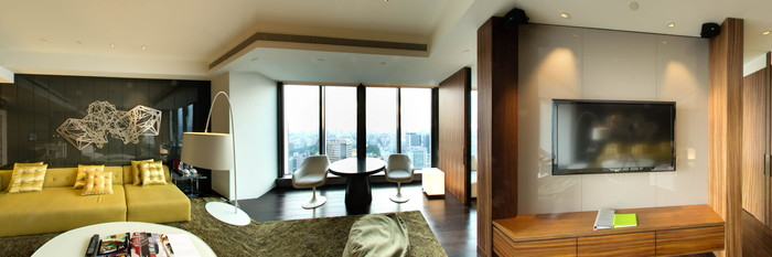 Panorama of the Marvelous Suite at the W Taipei