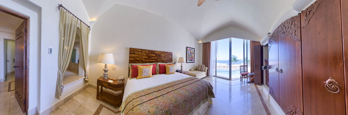 Panorama of the Master Suite at the Marquis Los Cabos All-Inclusive Resort & Spa