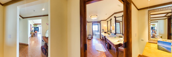 Panorama of the Oceanfront One Bedroom Suite at the JW Marriott Guanacaste Resort & Spa