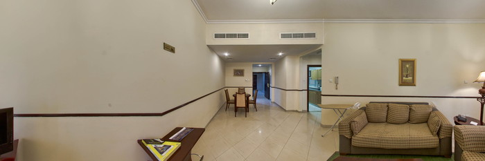 Panorama of the One Bed Room Apartment at the Tulip Inn Hotel Apartments-Al Qusais