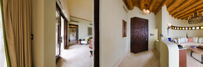 Panorama of the One Bedroom Casita at The Resort at Pedregal
