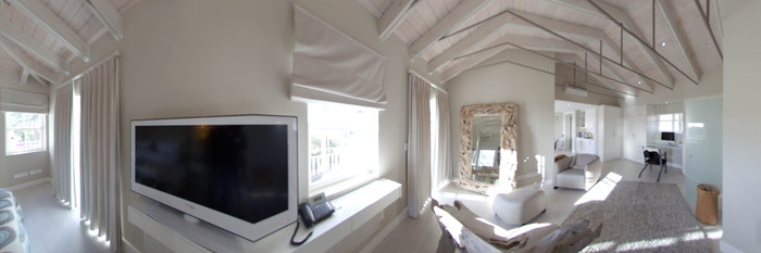 Panorama of the Penthouse at the Glen Boutique Hotel