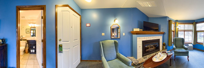Panorama of the Pet Friendly Elizabeth Room at the Georgetown Inn