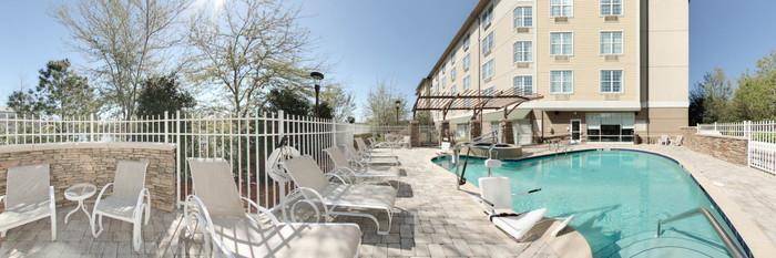 Panorama of the Pool at the Hotel Indigo Jacksonville Deerwood Park