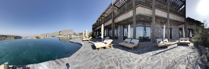 Pool at the Pool at Alila Jabal Akhdar