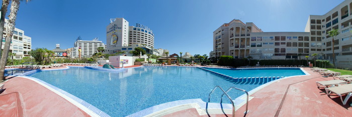 Panorama of the Pool at the Marina d'Or 5