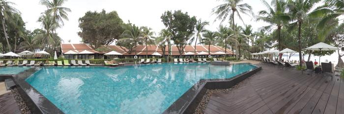 Panorama of the Pool at the Impiana Resort Patong Phuket