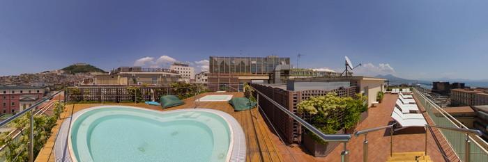 Panorama at the Renaissance Naples Hotel Mediterraneo