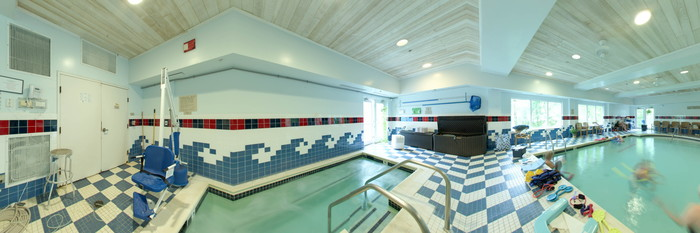 Panorama of the Pool at the Country Inn & Suites By Carlson, Annapolis
