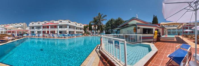 Panorama of the Pool at the Palazzo di Zante Hotel