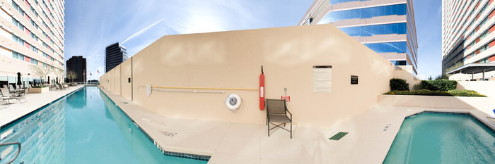 Panorama of the Pool at the Sheraton Phoenix Downtown Hotel