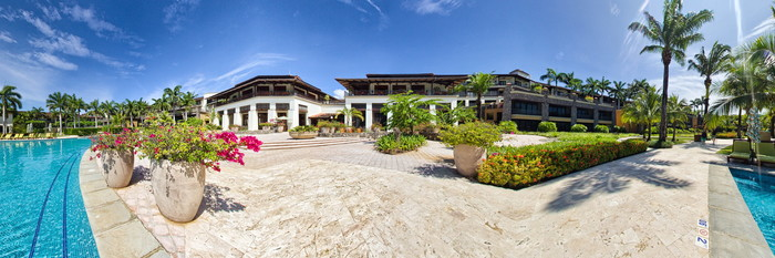 Panorama of the Pool at the JW Marriott Guanacaste Resort & Spa