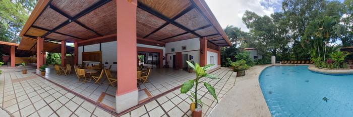 Panorama of the Pool at the Hacienda Guachipelin