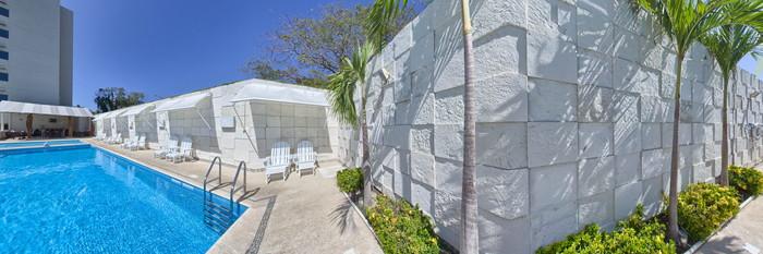 Panorama of the Pool at the Holiday Inn Acapulco La Isla