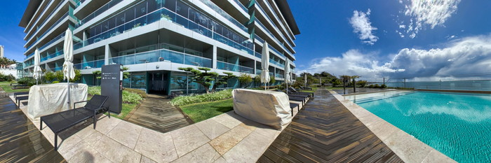 Panorama of the Pool at the InterContinental Estoril