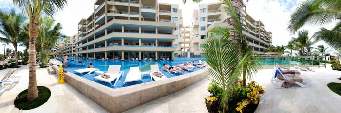 Panorama of the Pool at the Generations Riviera Maya by Karisma