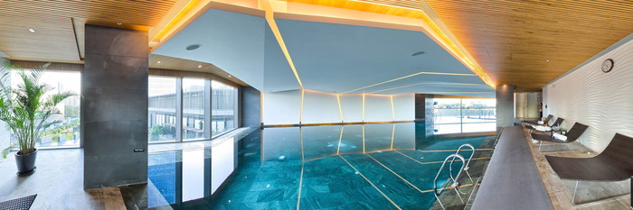 Panorama of the Pool at the East Beijing
