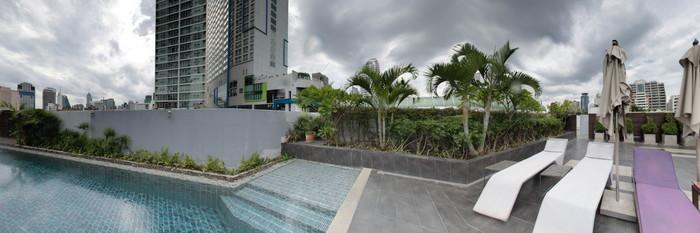 Panorama of the Pool at the Citadines Sukhumvit 11 Bangkok