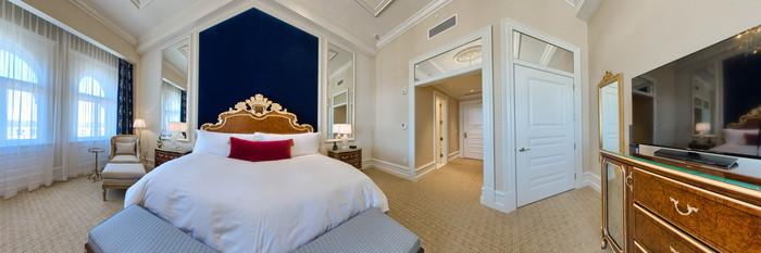 Panorama of the Premier King Room at Trump International Hotel Washington, D.C.