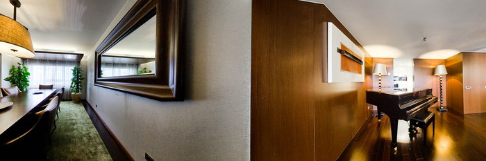 Panorama of the President Suite at the Sheraton Lisboa Hotel & Spa