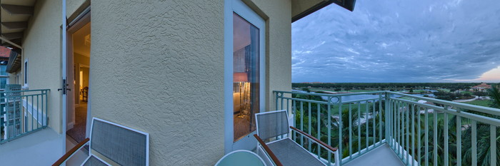 Panorama of the Presidential Suite at The Ritz-Carlton Golf Resort, Naples