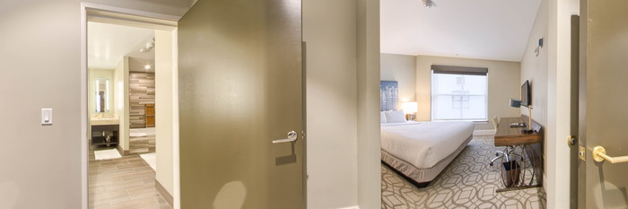 Panorama of the Presidential Suite at the Magnolia Hotel Denver