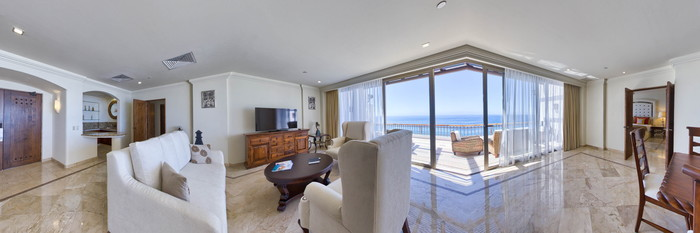 Panorama of the Presidential Suite at the Marquis Los Cabos All-Inclusive Resort & Spa