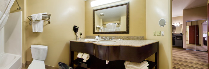 Panorama of the Queen One Bedroom Suite at the Country Inn & Suites By Carlson, Gainesville