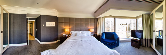 Panorama of the Regent Suite at The Westin Melbourne