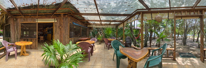 Panorama at the Jungle Jeanie's by the Sea